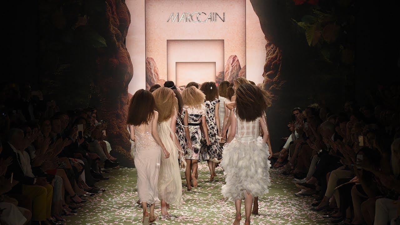 027619a5317f Marc Cain FASHION SHOW Spring Summer 2016   Fashion Week Berlin - YouTube