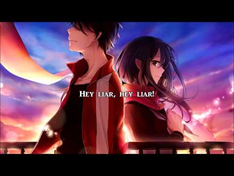 One OK Rock - 「Liar」 (Nightcore) Lyrics In English And 漢字
