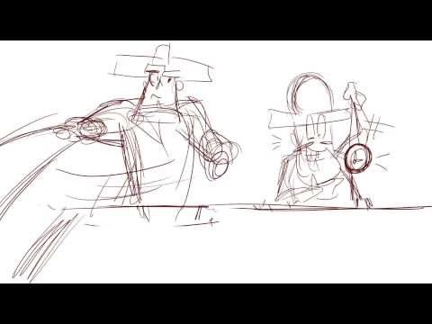A rough storyboard about pirates by Jamearts