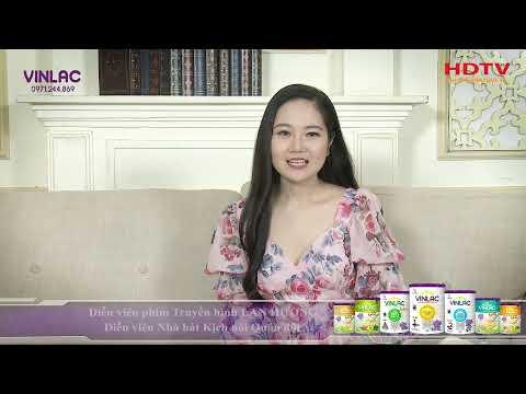 SỨC KHỎE MỖI NGÀY | Diễn viên Lan Hương | Sữa Vinlac giúp con phát triển toàn diện