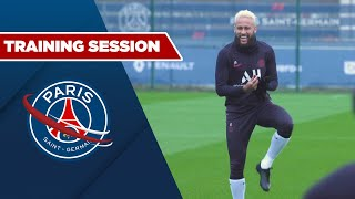 TRAINING SESSION : PARIS SAINT-GERMAIN vs SAINT-ETIENNE