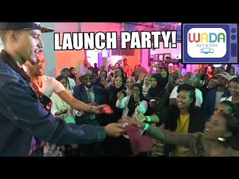 WADA NETWORK LAUNCH PARTY! [Where's My Baasto Live Performance]