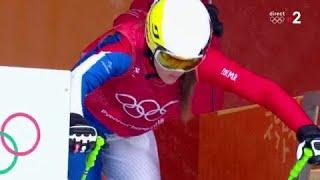 JO 2018 : Ski Cross femmes. La deuxième tricolore Alizée Baron qualifiée en 1/4 de finale