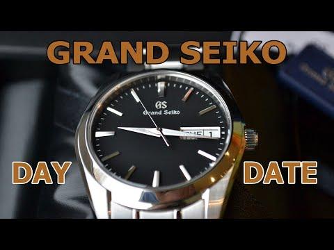 Обзор Grand Seiko SBGT237 / Day-date часы