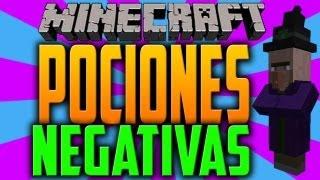 Minecraft 1.5.2 Como hacer pociones NEGATIVAS