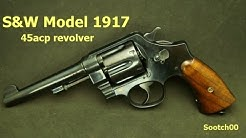 S&W Model 1917 45acp WWI Revolver