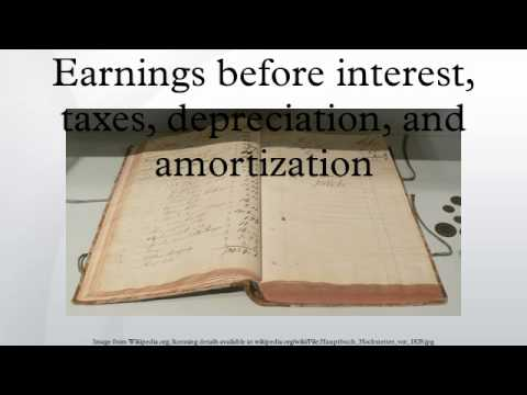 Earnings before interest, taxes, depreciation, and amortization