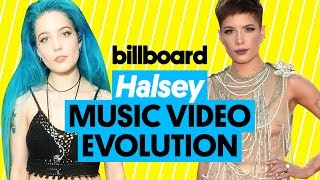 Halsey Music Video Evolution: 'Hurricane' to 'Without Me'' | Billboard