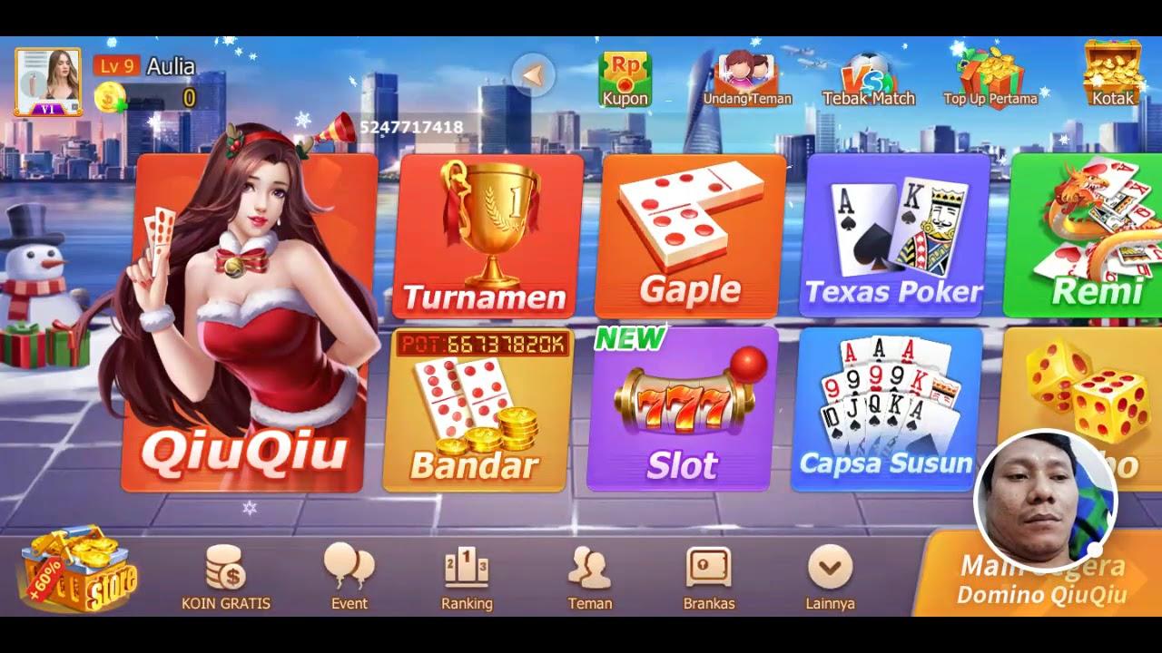Domino Qiuqiu 2019 Domino 99 Gaple Online 2020 02 20 Youtube