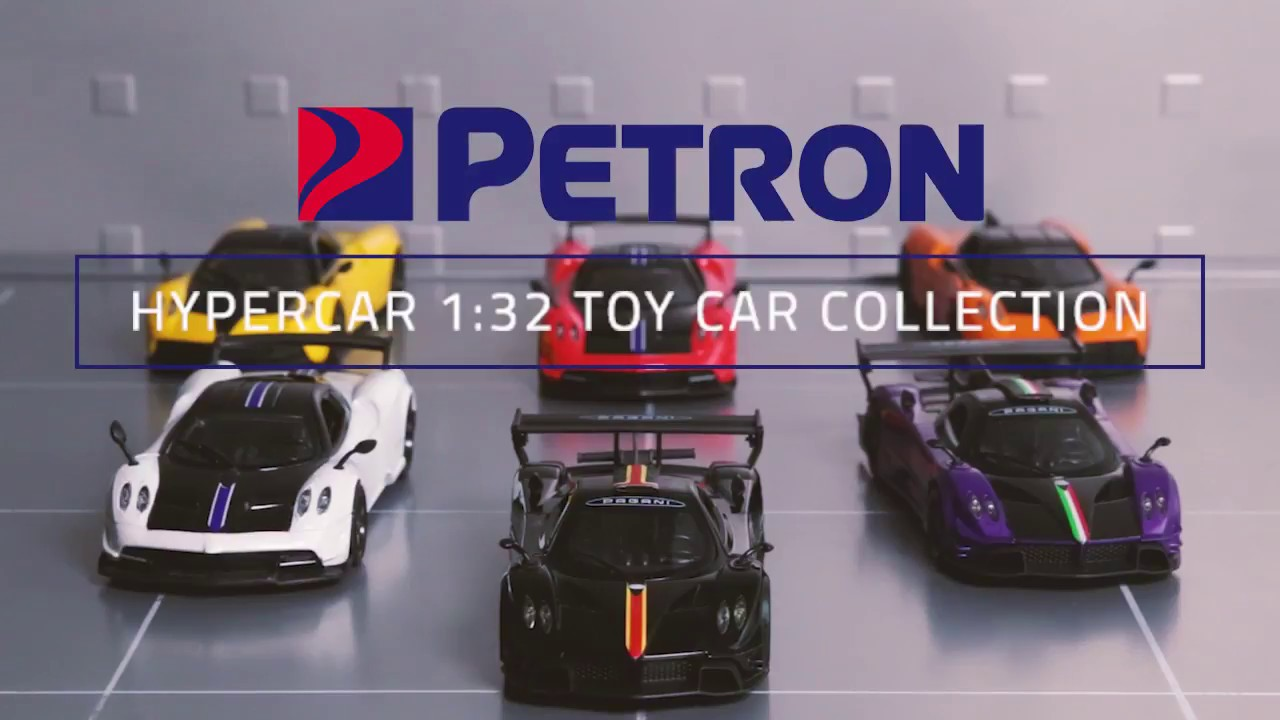 Petron Pagani Automobili Hypercar Limited Edition Toy Car
