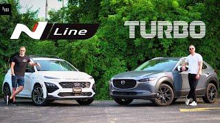 2022 Hyundai Kona N-Line vs Mazda CX-30 Turbo - Hot Hatch Adjacent