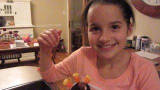 Thanksgiving Candy Turkeys (wk 203.2) | Bratayley