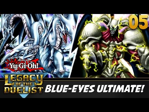 Let's Play Yu-Gi-Oh! Legacy of the Duelist Part 5 w/ ShadyPenguinn | BLUE EYES ULTIMATE!