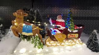Super Duży Sklep. Piękne ozdoby Bożonarodzeniowe w Holandii.  De Boet - Hoogwoud.