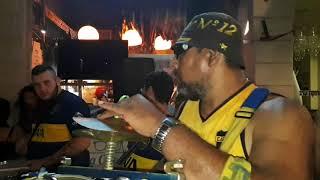 ארגון אוהדי בוקה ג'וניורס בא לחגוג עם פיצריית לה סלסטה