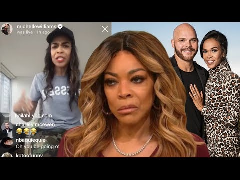 Michelle Williams Low Key Shades Wendy Williams My Man Is Faithful