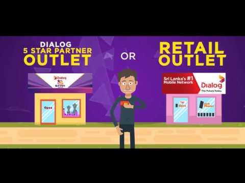 Get Your Dialog 4G SIM