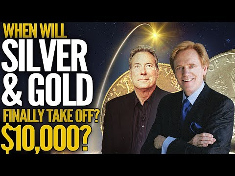 $10,000 Gold - When Will Silver & Gold Finally Take Off? Mike Maloney & David Morgan