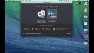 Windows auf Mac installieren Parallels Desktop 10 