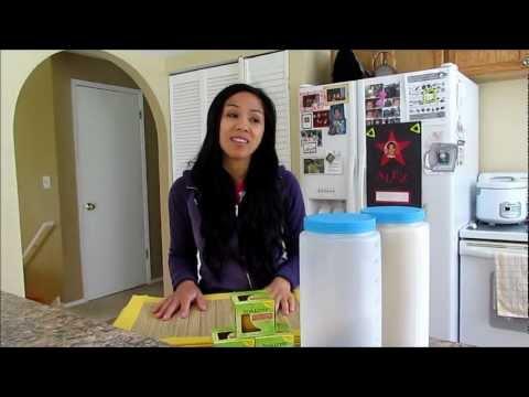 $1 Dollar BPA-Free Gallon Food Storage Citronella Candles Bamboo Placemats Dollar Tree