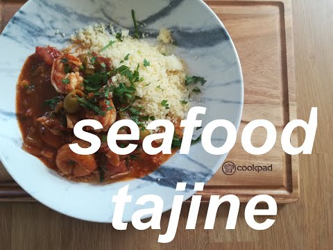 How To Make Seafood Tajine Or Tagine, Classic Moroccan Stew With Couscous