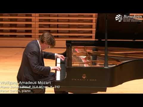 Mozart: Piano Sonata No. 8 | Peter Serkin