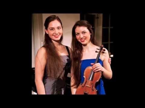 Young Duo plays Poulenc Violin Sonata, III. Presto tragico