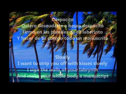 Despacito Lyrics in English Luis Fonsi ft Daddy Yankee