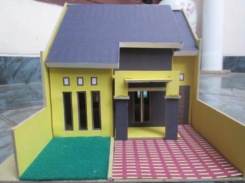 Maket Rumah Dari Kardus - Inspirasi Desain Rumah 2019