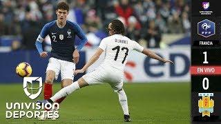 Francia 1-0 Uruguay - GOLES Y RESUMEN – Amistoso internacional