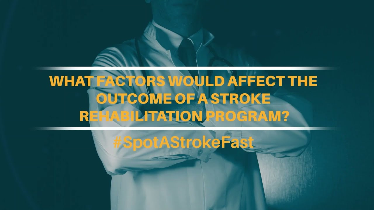 What factors would affect the outcomes of a Stroke Rehabilitation Program? | Apollo Hospitals