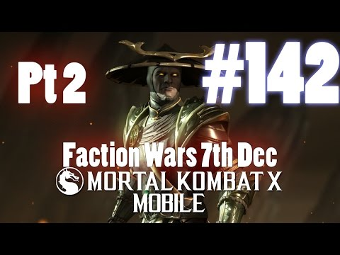 Faction Wars 7th Dec Part 2! - Mortal Kombat X Mobile Gameplay Pt 142 [V1.6] [IOS - iPad]