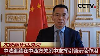 大使新年话外交 中法继续在中西方关系中发挥引领示范作用 |《今日环球》CCTV中文国际 - YouTube