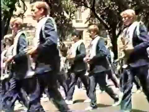 Malcolm High School Marching Band Philadelphia & Washington DC 1986