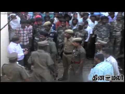 Cheetah in House at Hosur - Dinamalar May 18th 2014 Tamil Video News