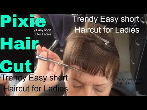 Pixie Cut, Short Haircut For Women, Pixie Haircut
