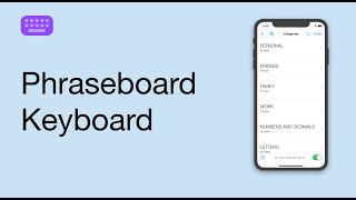 Phraseboard Keyboard