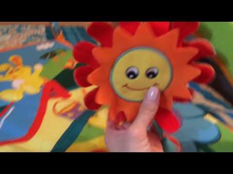 Видео: Коврик развивающий солнечный денек