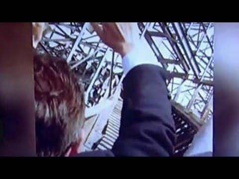 Ted Cruz rides a roller coaster