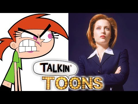 Fairly OddParents Meets The XFiles! Talkin' Toons w Rob Paulsen