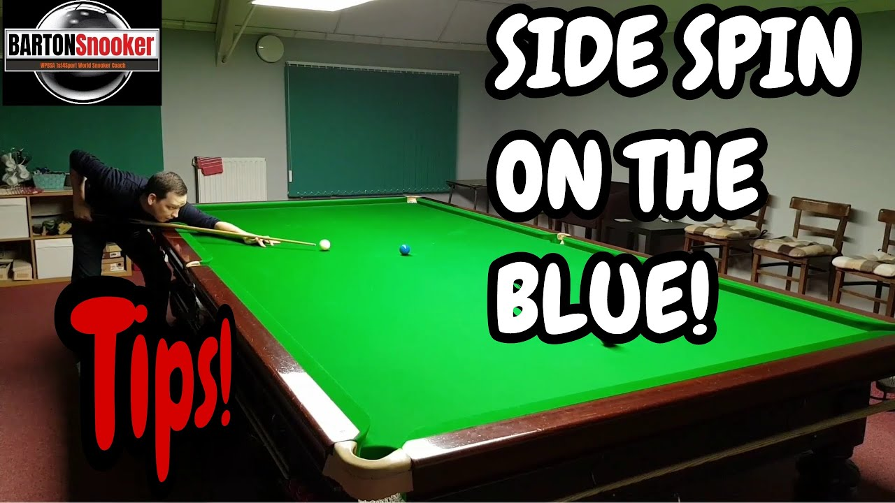 Download Snooker Side Spin On The Blue - Snooker Training