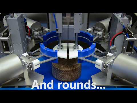autoSONIC FLR_Ultrasonic Cheese Cutting Solution for Cheese Rounds & Logs