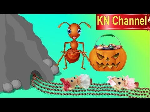 Đồ chơi trẻ em Búp bê KN Channel KHÁM PHÁ HANG ĐỘNG BẦY KIẾN LỬA