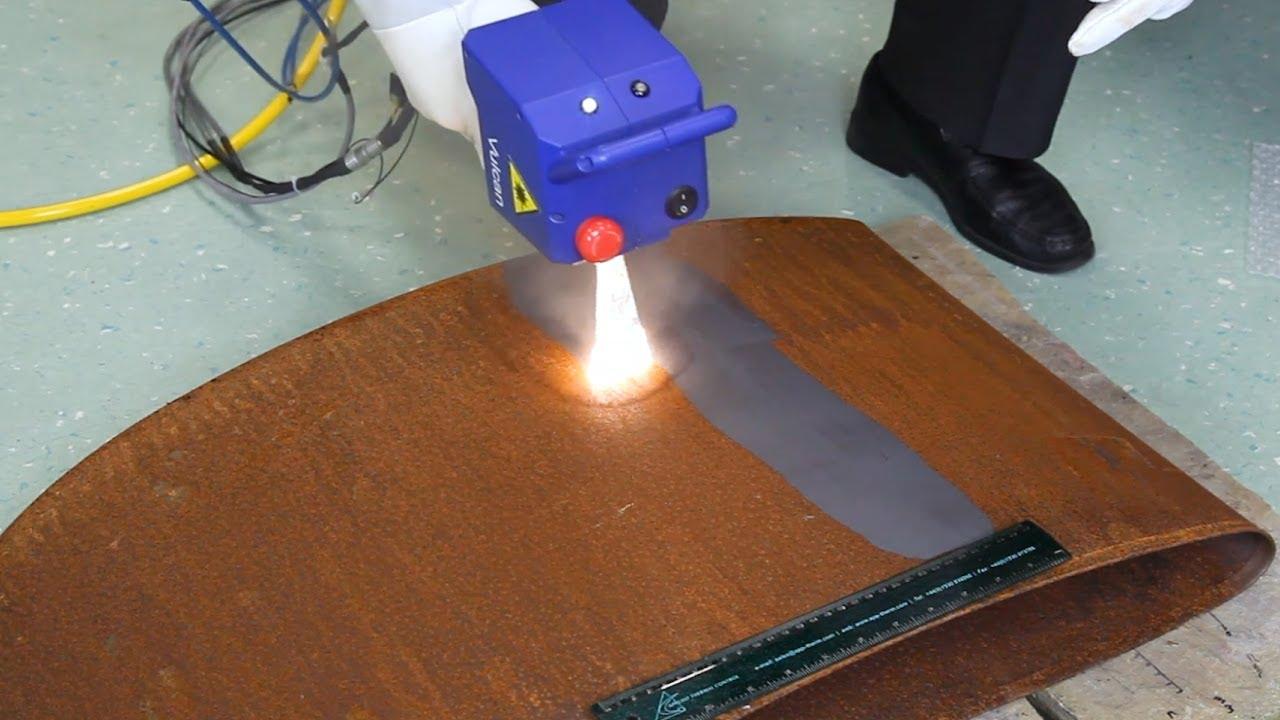 Laser Rust Removal | Powerlase