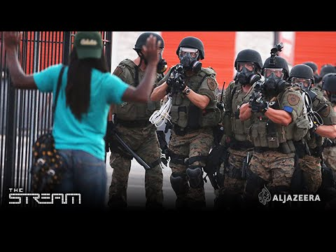The Stream - Taking up arms: The militarisation of US police