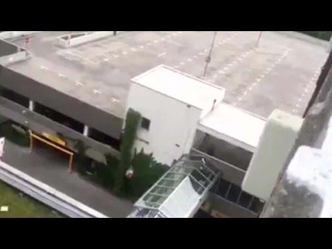 Video from parking garage near Munich shooting