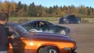 Donuts, burnouts, and powerslides in my 95 camaro 3800