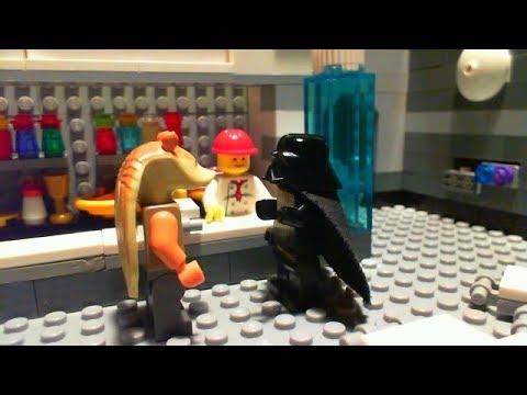 LEGO Brickfilm: Darth Vader & The Death Star Canteen