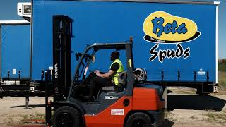Leading Potato Supplier Keeping 'Eyes on the Fries' With Toyota Forklifts