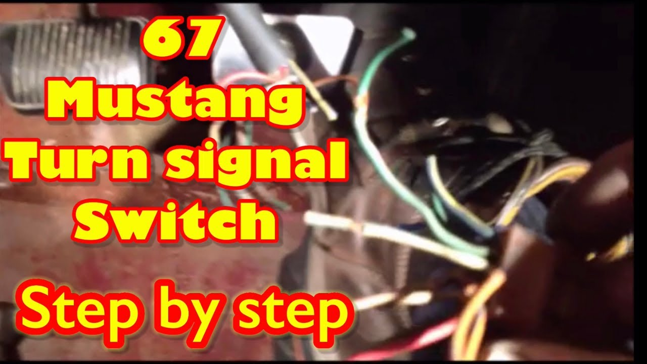 67 Mustang Turn Signal Youtube 1968 Ignition Switch Wiring Diagram